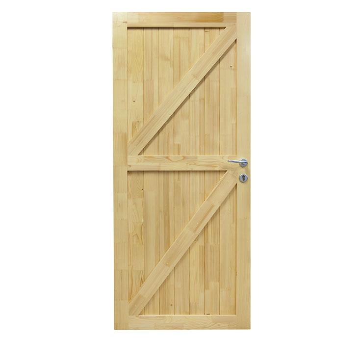 Drvena unutrasnja vrata od punog drveta